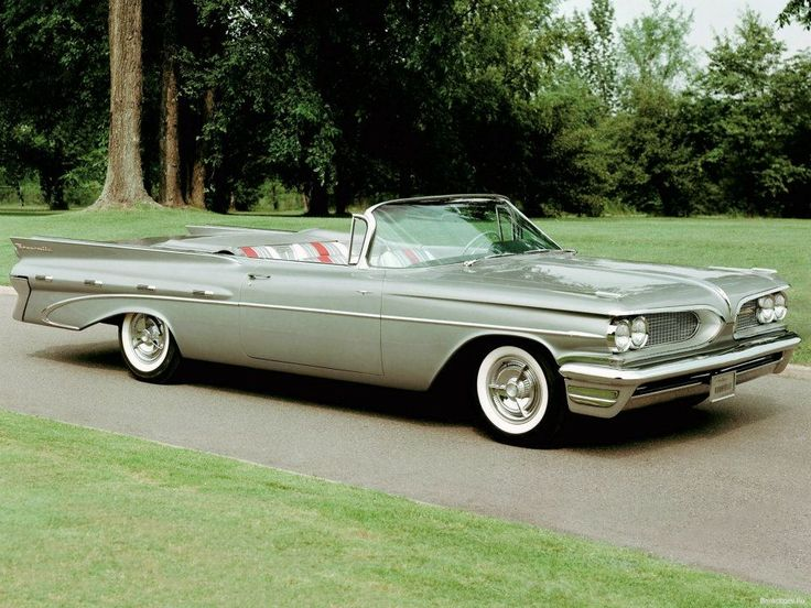 1959 Pontiac Bonneville Convertible. This may be the longest car I have ever driven. With the top down, it looked and whispered through the air like an arrow.
