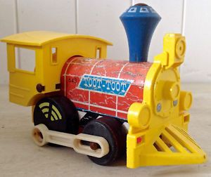 "Vintage 1964 Collection. Jouet FISHER PRICE ""Toot-Toot"" USA"