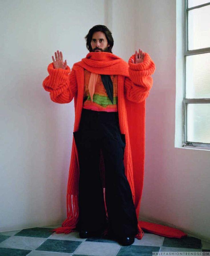 Male Fashion Trends: Jared Leto viste contrastantes looks para INDIE Magazine por Daria Kobayashi Ritch