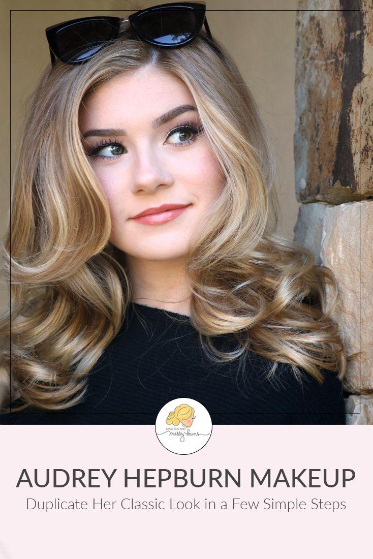 dd9ceaef868 This Audrey Hepburn makeup tutorial will help you recreate the star's classic  look in just a few simple steps. #audreyhepburn #audreyhepburnmakeup # ...