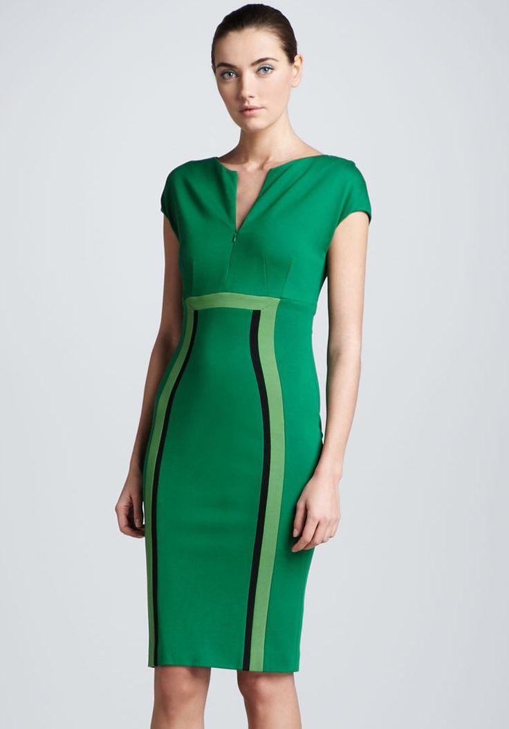 emerald zip-front ~
