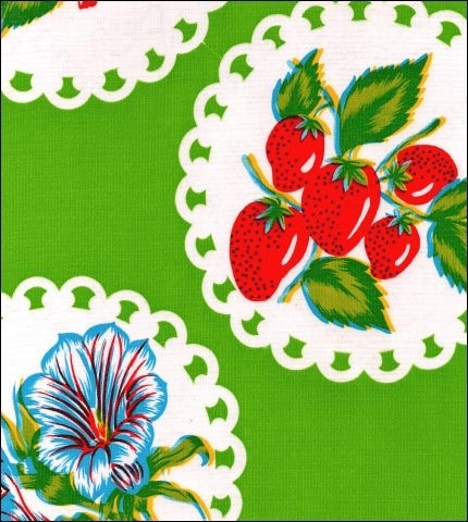 Round Oilcloth Tablecloths In Doily 2 Collection