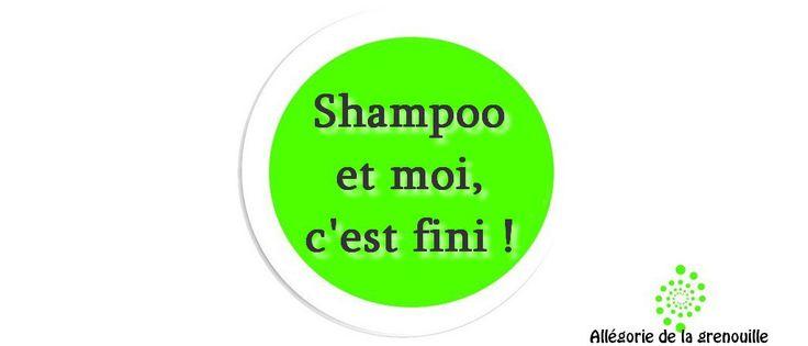la fin du shampoing : No poo a base de feuilles d'ortie, d'eau et de vinaigre