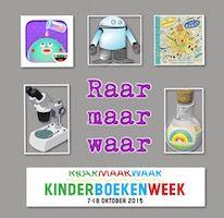 Kinderboekenweek 2015 Met apps, ebooks, boeken, lesmateriaal en veel meer. Een goed gevulde themapagina over 'Raar maar waar!'.