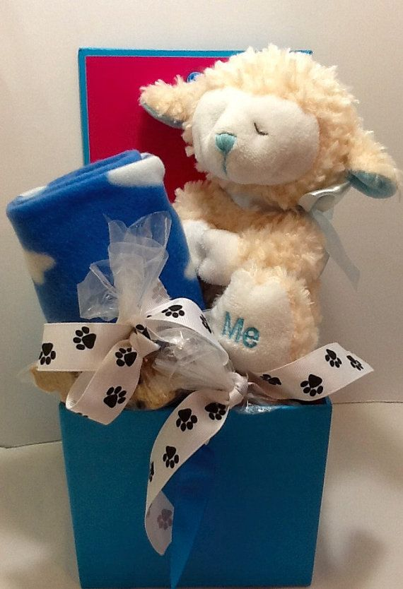Dog Gift Basket  Sweet Dreams by DOGBonesBoutique on Etsy