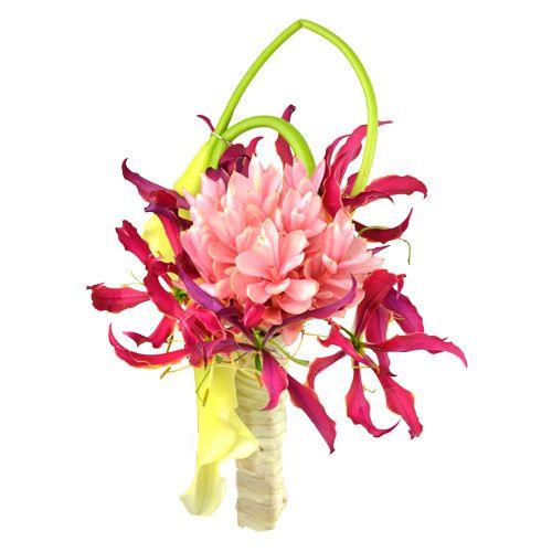 Lotus bouquet mari e un bouquet de mari e aux fleurs for Bouquet exotique