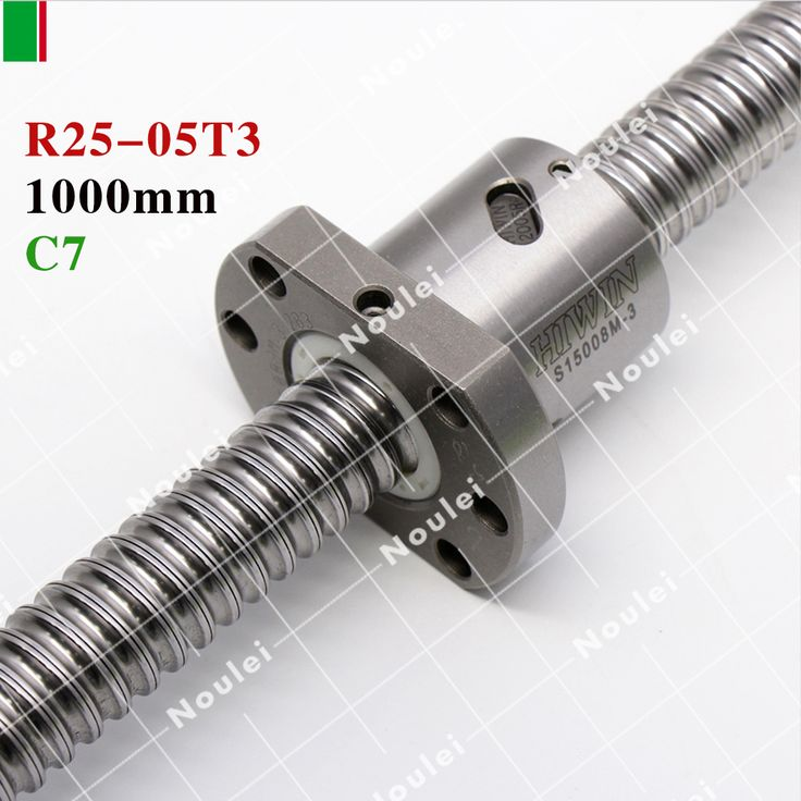 HIWIN FSI 1000mm 2505 5mm <b>lead screw</b> cnc <b>ball screw</b> set and ...