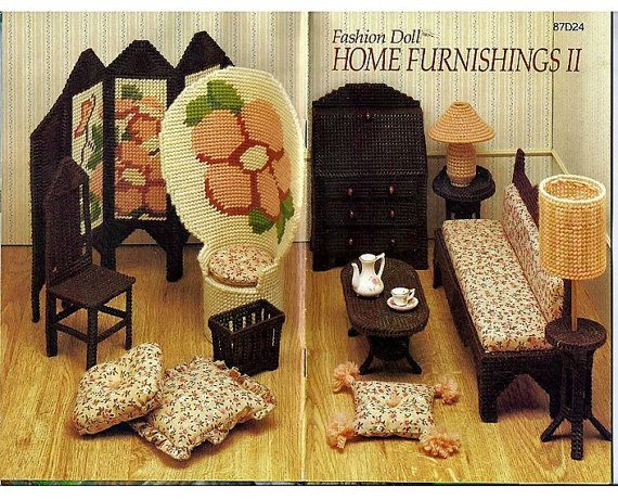 23 Best Plastic Canvas And Minis Images On Pinterest Barbie Furniture Plastic Canvas Patterns