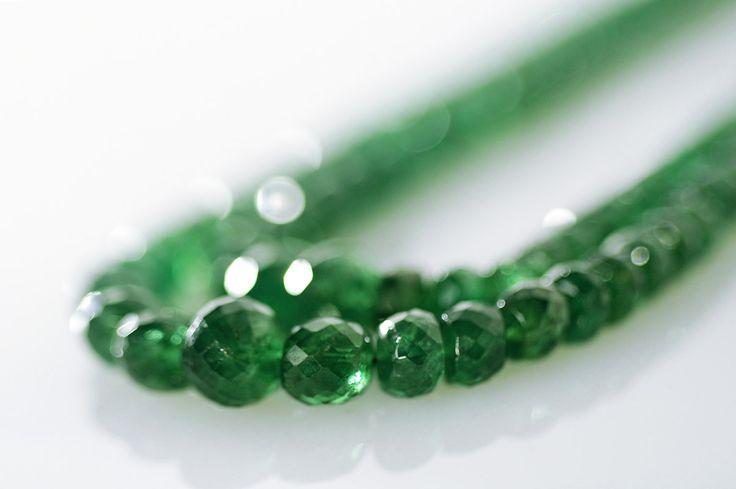 Tsavorite Beads.