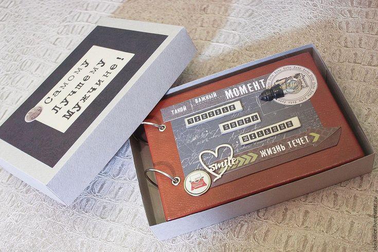 Купить Чековая Книга Желаний в кожаной обложке - коричневый, книга желаний, исполнение желаний