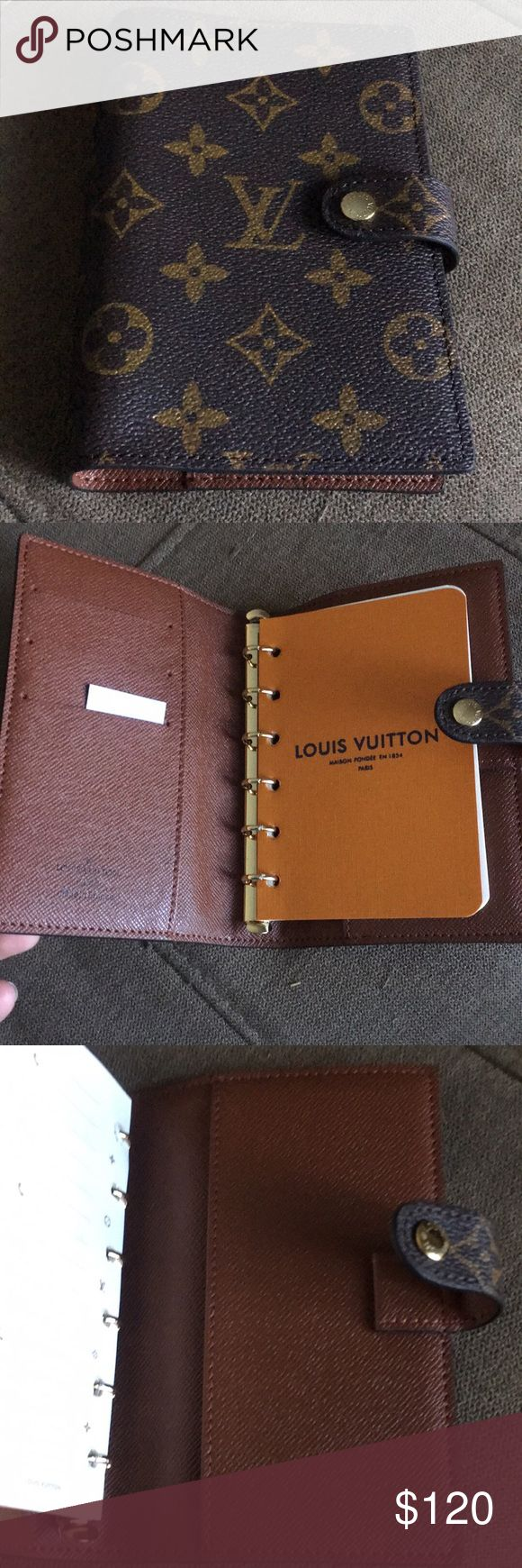 Louis Vuitton Agenda Pm Inspired LV agenda pm. Brand new. READ DESCRIPTION BEFORE YOU BUY! Louis Vuitton Accessories