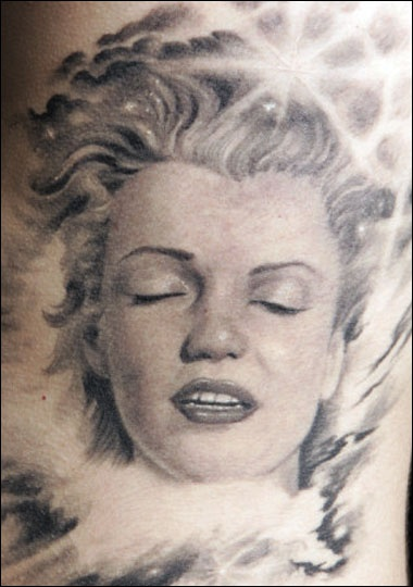 kat von d does such awesome portrait tattoos...i would ...