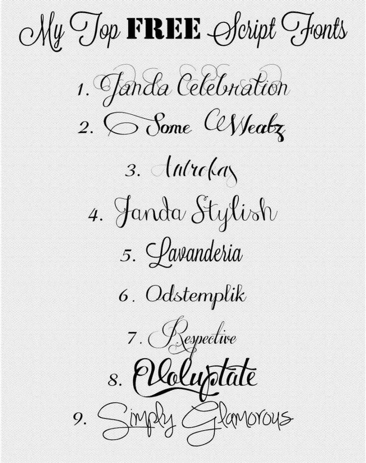 25 unique Wedding calligraphy fonts ideas – Free Calligraphy Fonts for Wedding Invitations