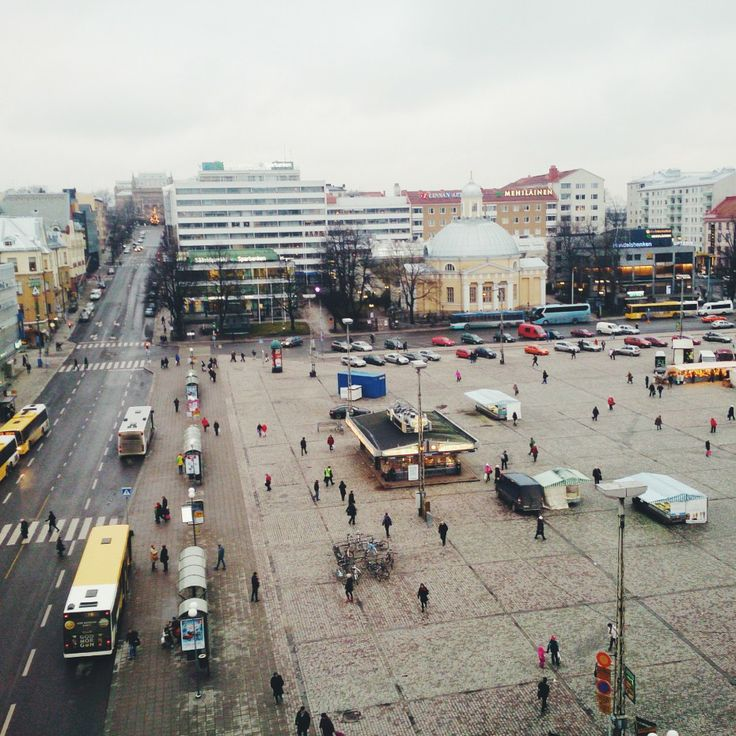 Turku Market Square   Finland