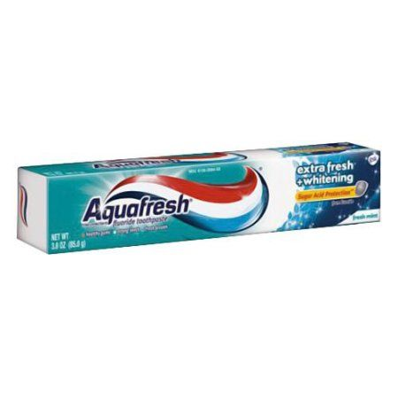 Aquafresh Extra Fresh Plus Whitening Toothpaste 3.0 oz, Multicolor