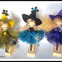 Broche de bruja/ Witch doll brooch                                                                                                                                                                                 Más