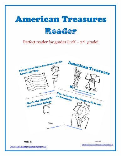 (FREE!) American Treasures Reader - Enchanted Homeschooling Mom