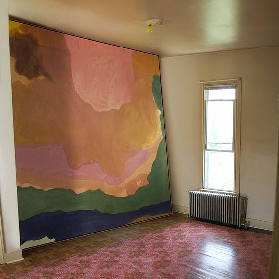 """I follow the rules until I go against them all."" —Helen Frankenthaler"