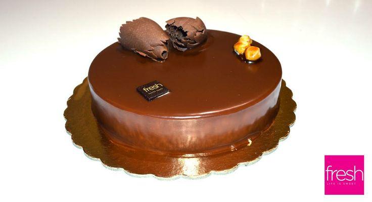 Praline cake.... enough said!