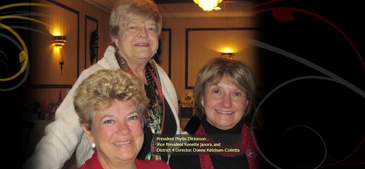 District IV Director, Zonta Club of Cheektowaga Lancaster President and Vice President