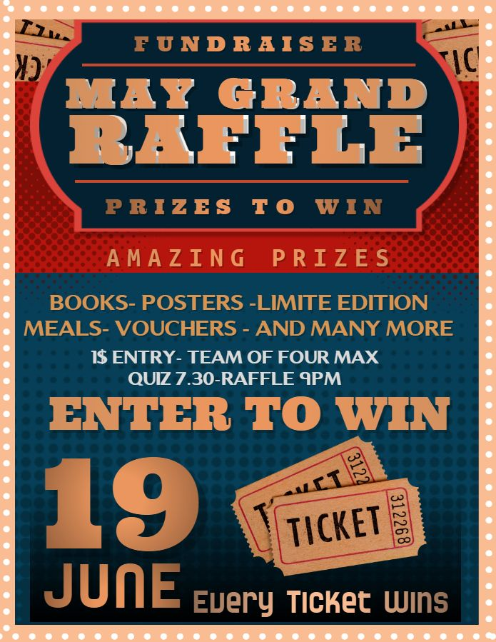 grand raffle flyer social media post template contest posters