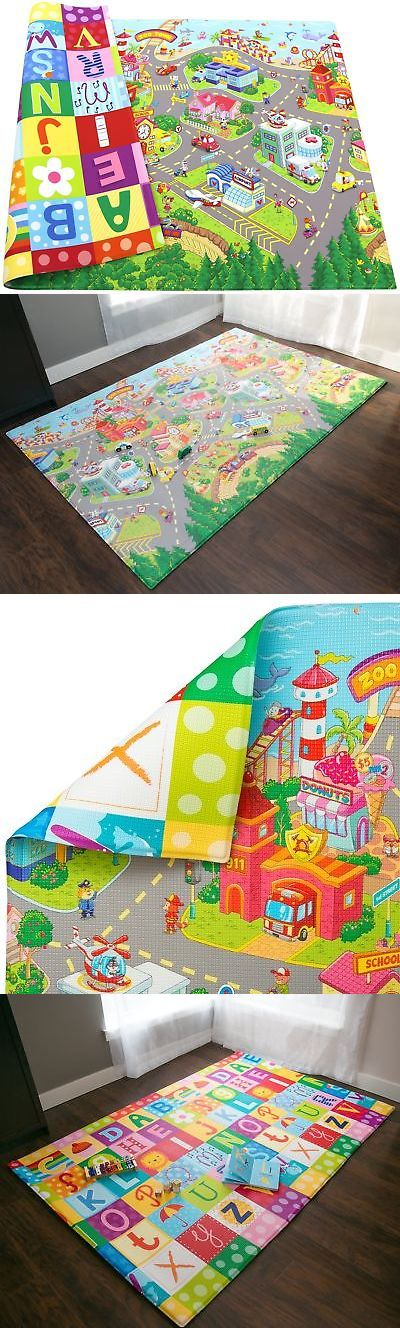 Baby Gyms and Play Mats 19069: Baby Care Play Mat (Large, Zoo Town) Large -> BUY IT NOW ONLY: $178.68 on eBay!