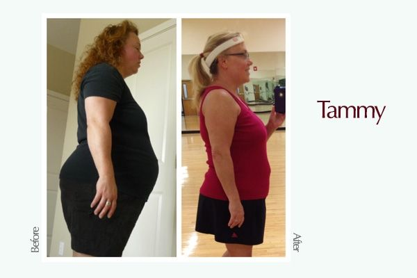 Tammy Weight Transformation - 5 Women Share the Tricks That Motivated Their Weight Loss - #ReImagineDieting Sign up for more weight loss stories like this at fullplateliving.org