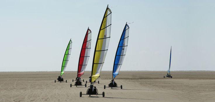 Strandsegeln auf Römö! Have fun at windriders.dk