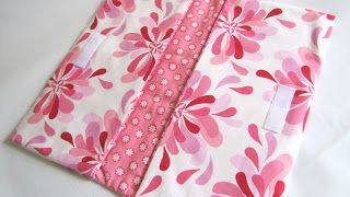 The Haby Goddess: Tutorial: Fabric Nappy Wallet