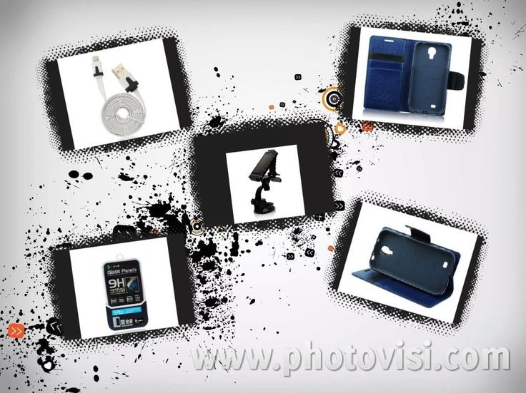 Kit accessori per iPhone 6 - Cavo usb /Supporto auto/Vetro Temperato/Cover blu