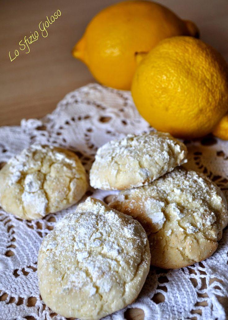 Lo Sfizio Goloso: Biscotti morbidi al limone e miele