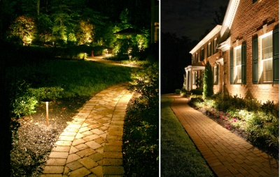 How To Light Outdoor Paths Correctly