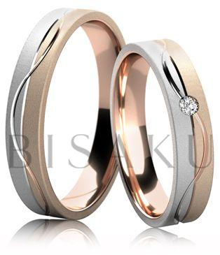 Snubní prsteny Linia 4662