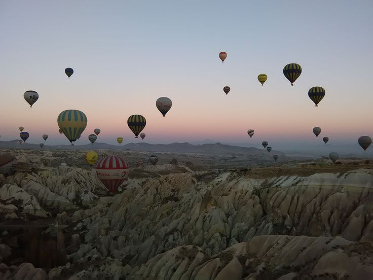 Flight over Cappadocia