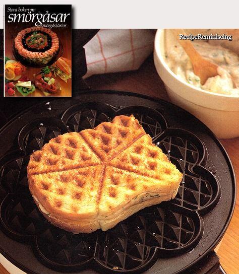 Salty Waffle Sandwich / Salt Våffelsmörgås