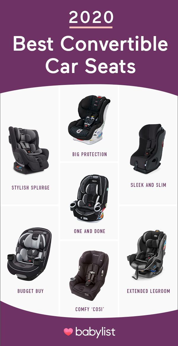 8 Best Convertible Car Seats According To Thousands Of Parents