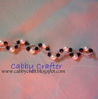 The Cabby Crafter: [Jewelry] Swirly Bracelet
