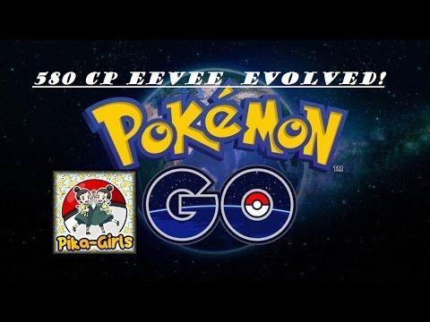 580 CP Eevee evolved!!  Let's Play Pokemon Go! Pokemon in Real Life - Video --> http://www.comics2film.com/580-cp-eevee-evolved-lets-play-pokemon-go-pokemon-in-real-life/  #Pokémon