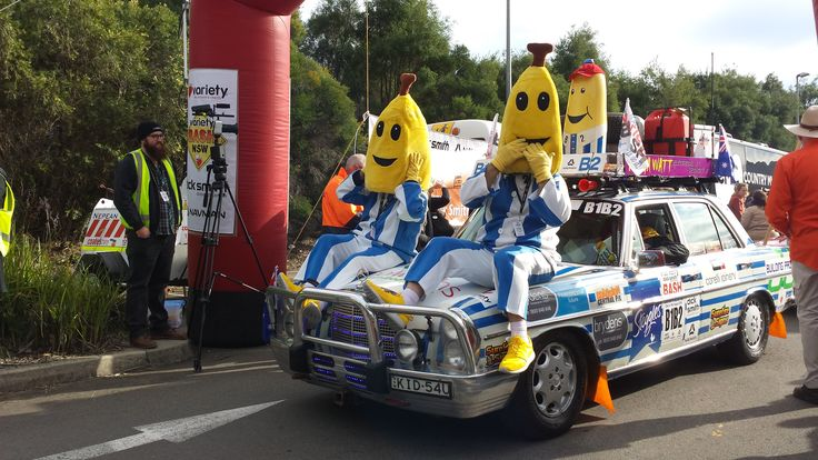 Taken at the launch of the 2013 NSW Variety Bash from Dick Smith HQ in Chullora. Read more on our blog here: http://www.blog.navman.com.au/navman-and-dick-smith-lead-the-pack-as-the-nsw-variety-bash-gets-underway/