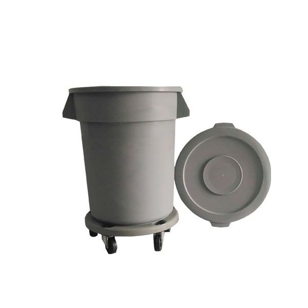 Round Dust Bin 76 L Grey  http://alatcleaning123.com/tempat-sampah/1880-round-dust-bin-76-l-grey.html  #dustbin #tempatsampah