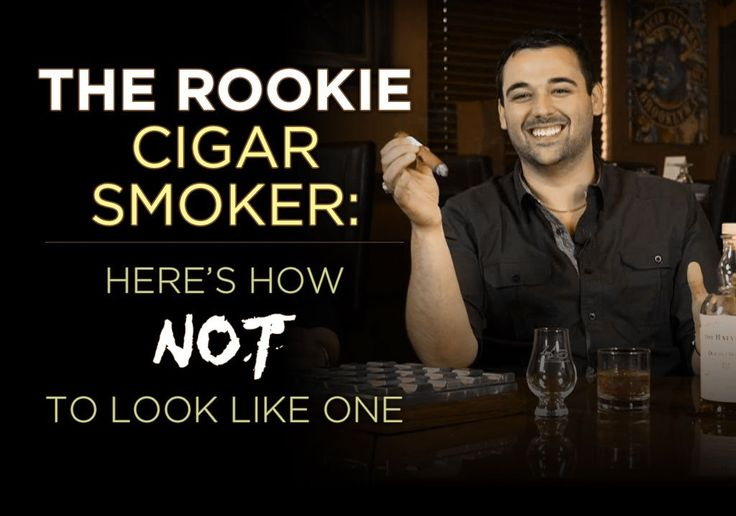 The Rookie Cigar Smoker: Here's How NOT to Look Like One By Tommy Zman Zarzecki I hear it all the time - guys who are either new to cigar smoking or smoke occasionally (golf, poker, camping, what have you) are…