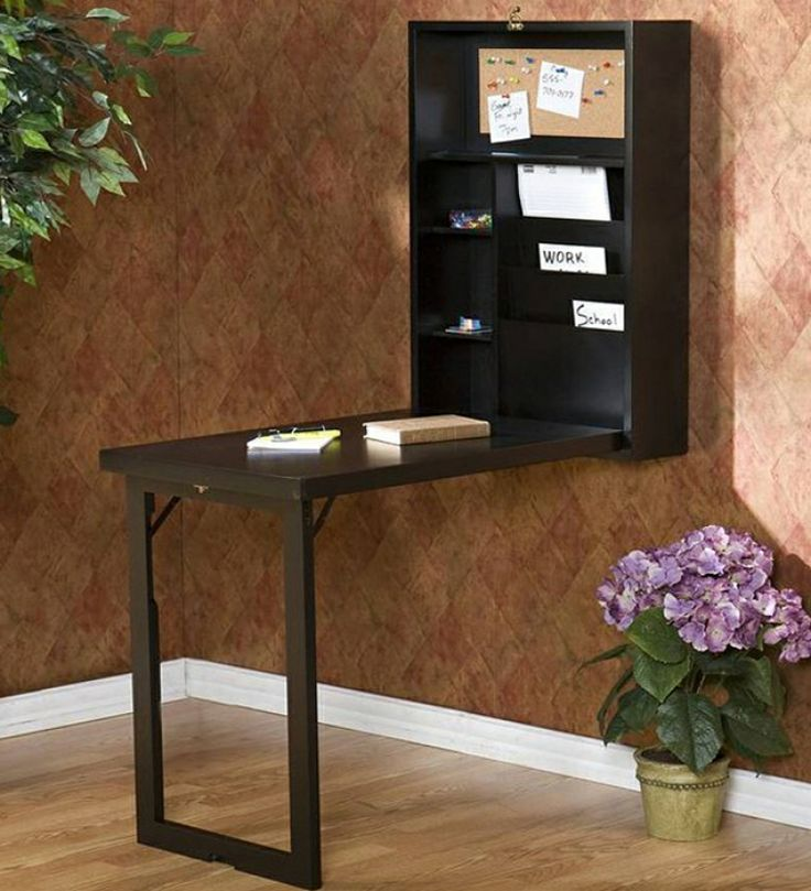 Sheesham Wood Walnut Hanging Writing Desk | Tables | Study Tables | Pepperfry Product