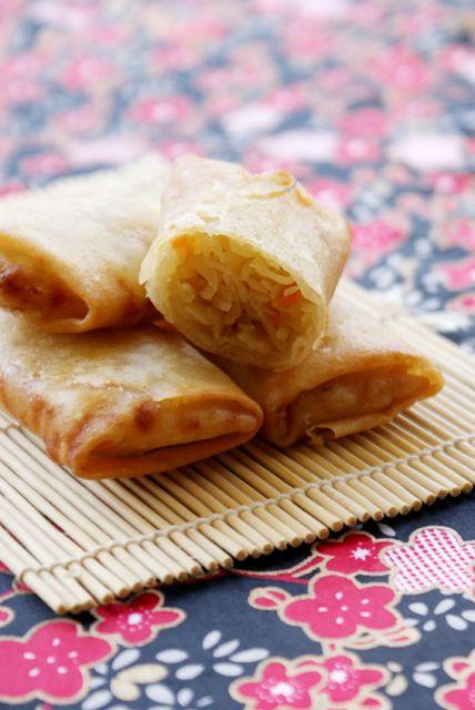 L'amour pour la cuisine: Involtini primavera per una cena cinese home made