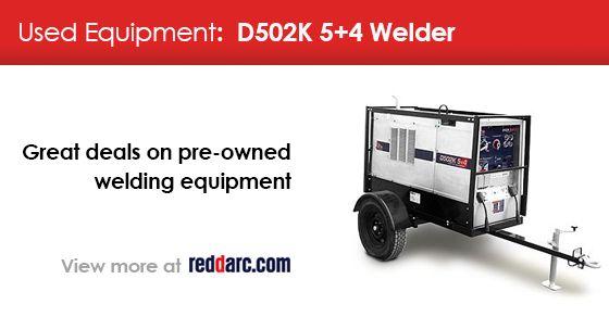 Used Equipment Offer: D502K 5+4 Welder #Houston #Boston #Chicago #Detroit #Welding More >