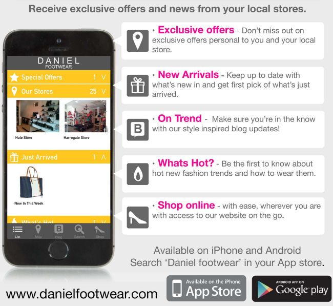 The Style Rawr - UK Fashion and Style Blog: Competition! Win £50 to spend at Daniel Footwear!