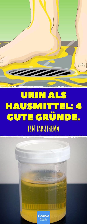 4 Gründe, warum Urin nicht (nur) im Klo landen sollte. #urin #hausmittel #nagel…