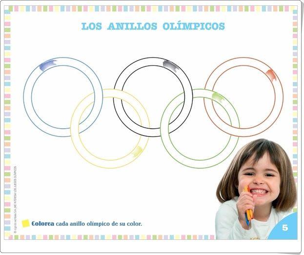 """Proyecto de Educación Infantil  """"Los Juegos Olímpicos"""" (Colección """"¡Me interesa!"""" de Editorial Algaida)"""