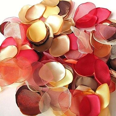 Colorful Handmade Fall Leaves Decoration - Pack of 200 Pieces (5 Colors Mixed) – USD $ 34.99