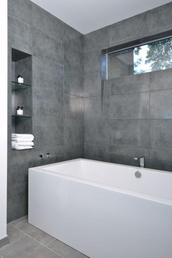 Grau In Der Badewanne Fliesen Design Badezimmer Ideen Badgestaltung Ideen Badgestaltung Badgestaltung De Badezimmer Modernes Badezimmer Lila Badezimmer