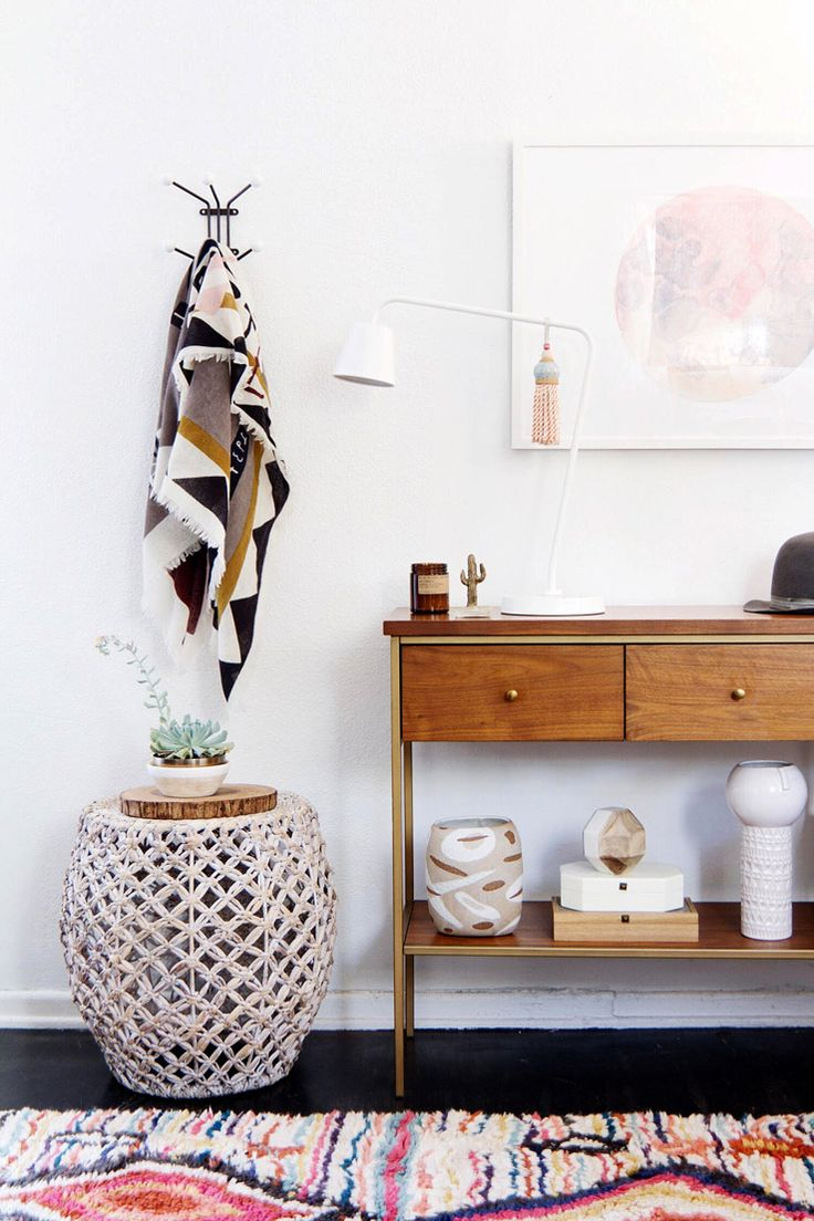 Anne Sage West Elm - Desert Boho Chic Entryway